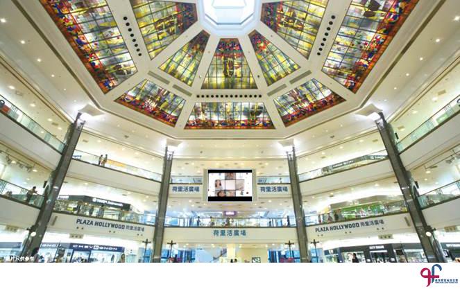 全新的電視公益廣告將於鑽石山荷里活廣場的室內大電視播放