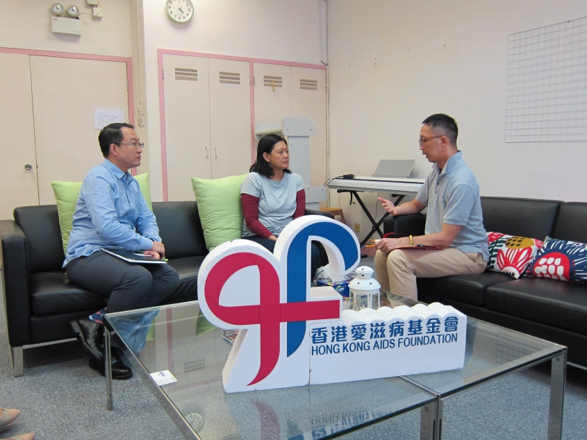 Interview for recent HIV infections among Indonesians in Hong Kong