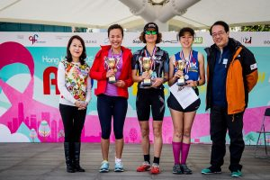 AIDSFreeRun_Female Winner Group Photo