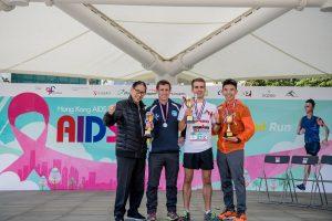 AIDSFreeRun_Male Winner Group Photo